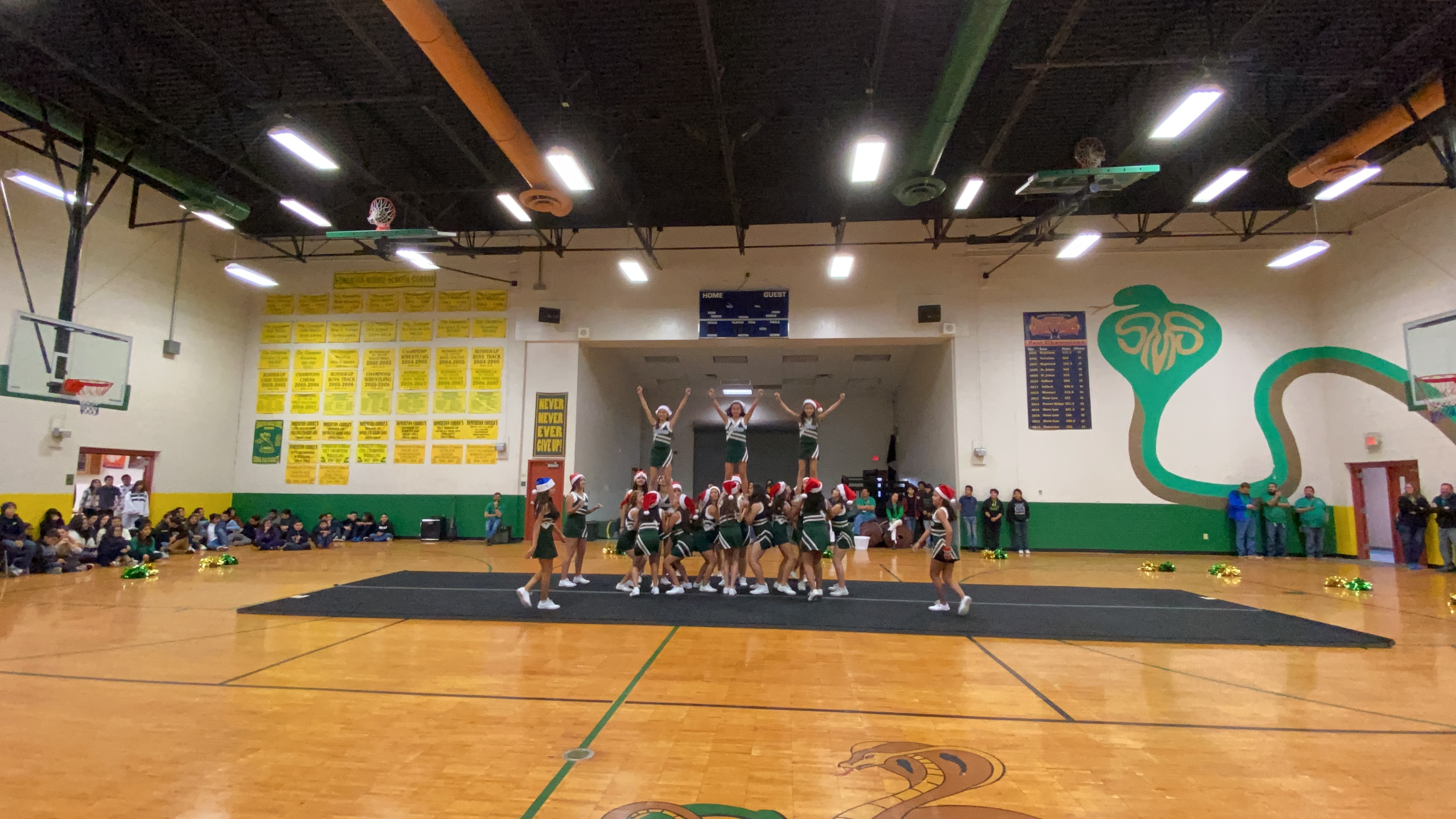2019 Winter Assembly, Cheer Squad