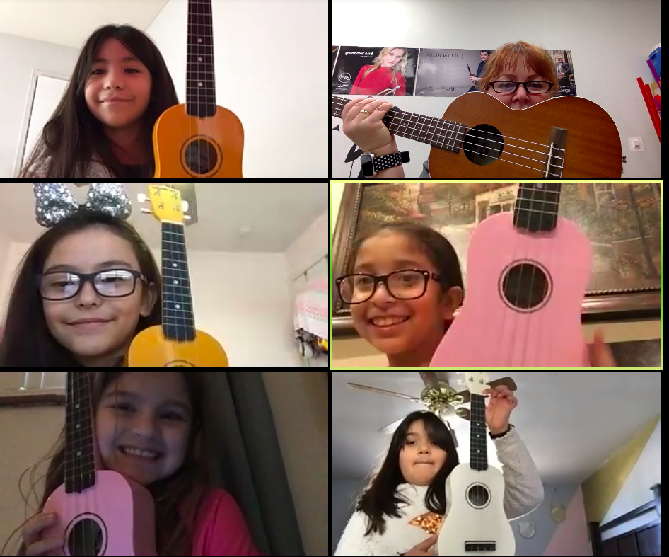 Mrs. Lee's Ukelele group